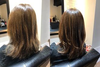 髪質改善よりも縮毛矯正をおすすめしたお客様の事例